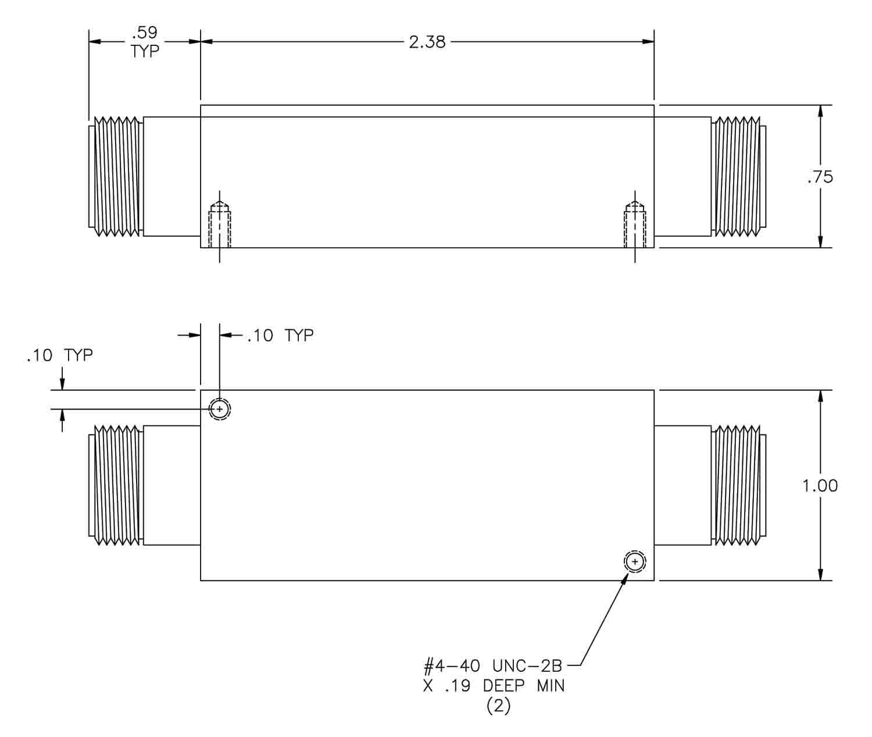 Mobile Radio (450-470 MHz) Bandpass Filter